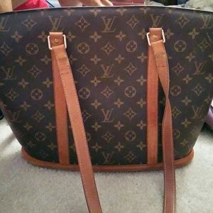 AUTHENTIC LOUIS VUITTON BABYLONE PURSE