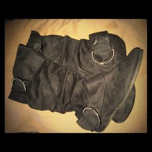 Boots - Black Slouch Boots