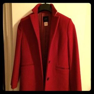 J Crew woman's wool coat