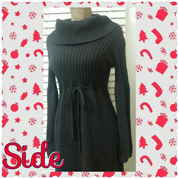 Sweater Dress Calvin Klein Warm Calvin Klein Grey Sweater