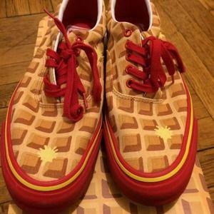 7e492c7cd4 BBC ICE CREAM Shoes - BBC Ice Cream Waffle Vans Size 9