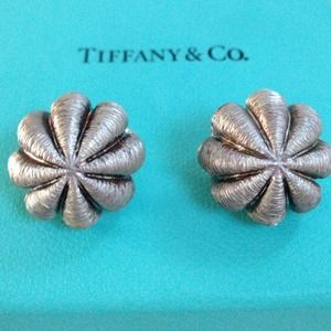 Authentic Tiffany large size earings