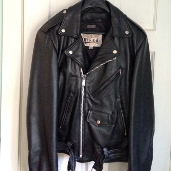Wilson leather motorcycle jackets