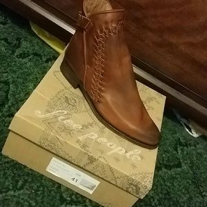 Free People Left Bank Ankle Boot Women's Size 10