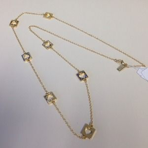 Kate Spade Hole Punch necklace