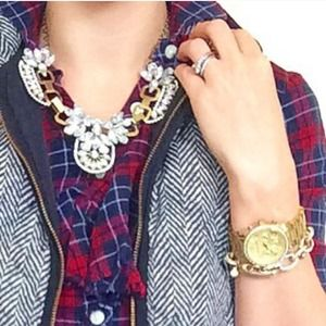 Jewelry - ❌SOLD OUT❌Crystal Statement Antique Style Necklace