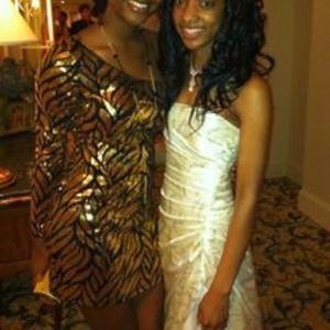 One Shoulder Black and Gold Sequins Dress