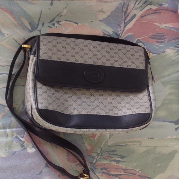 Gucci Bags Vintage 1980s Handbag Poshmark