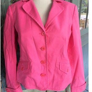 J Crew Pink Blazer Size 6