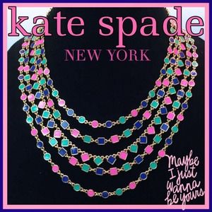 ✨HP x 2✨ KATE SPADE Multi-Strand Necklace