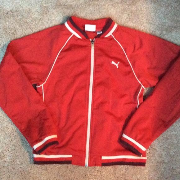 Vintage puma track jacket M