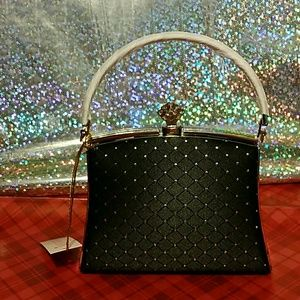 Handbags - Black little Dimond purse