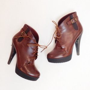 Charles David Shoes - ❌SOLD! Chocolate Brown Boots
