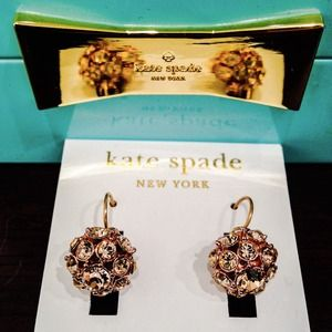 kate spade Jewelry - *WAS $75* Kate Spade Lady Marmalade Ball Earrings