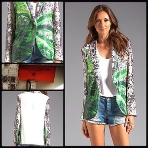 HOLD🔫CLOVER CANYON 🍀How High? Sequin Jacket NWT