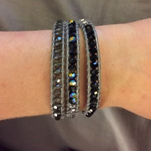 Chan Luu black wrap bracelet