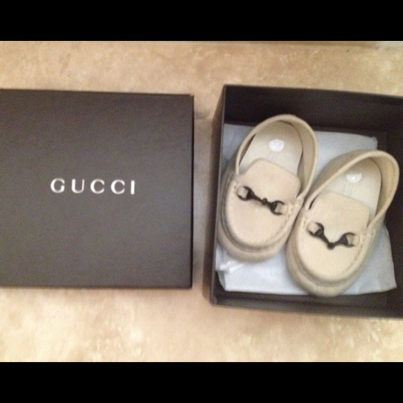 a5253e6a **SOLD** Baby Gucci Loafers size 17