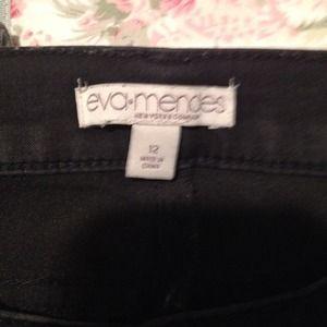 Sold bundle Eva Mendez black skinny jeans