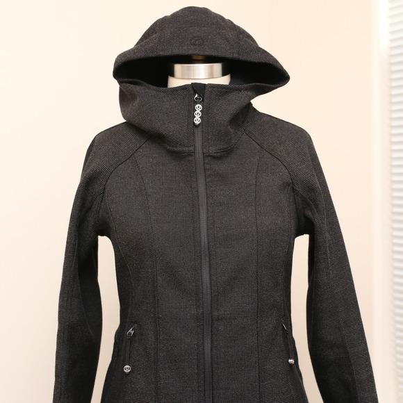 lululemon athletica - Lululemon City Tweed softshell hooded jacket ...