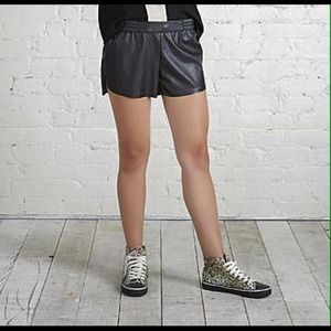 Faux leather shortsBNWOT