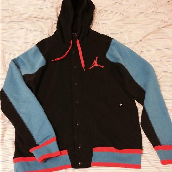 bae146c5c5c85f 3 Jordan button up hoodies!