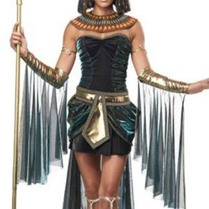 Egyptian Goddess Costume Dress