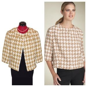 Michael Kors Houndstooth Jacket