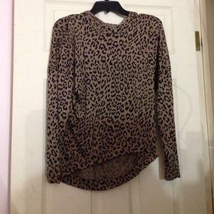Cheetah Print Brandy Layla Style Hoodie Top!
