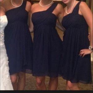 Bill levkoff bridesmaid dress.