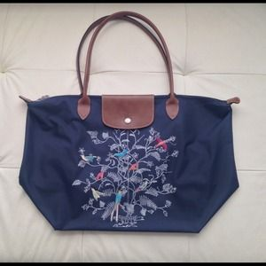 50db3e11e17c Longchamp Bags - Longchamp Tree of Life Large Tote