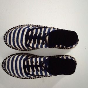 Zara striped espadrilles shoes