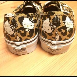 2e90a0327f520 Vans Shoes | Rare Hello Kitty Leopard Authentic Sanrio | Poshmark