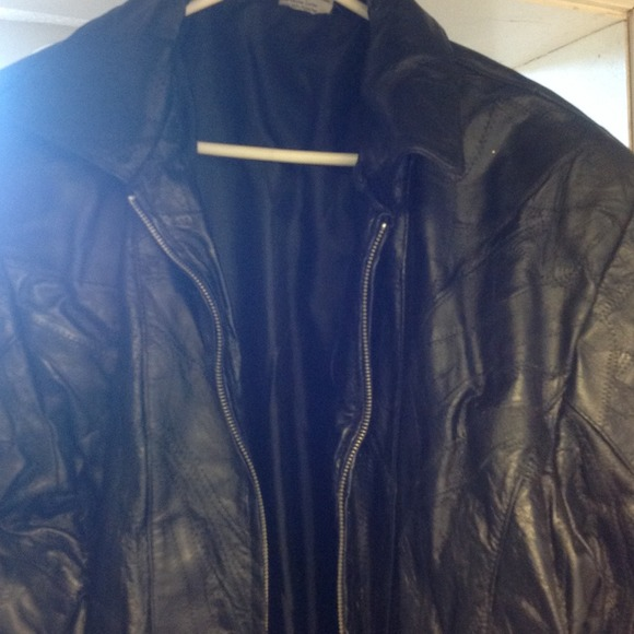 Flight path leather jacket XL from Nita&39s closet on Poshmark