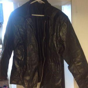 Flight Path Leather Jacket Fit Jacket