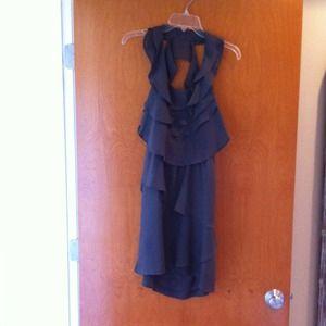 Dresses & Skirts - Gray silk dress. Sold