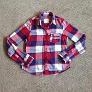 Abercrombie Kids Plaid Flannel