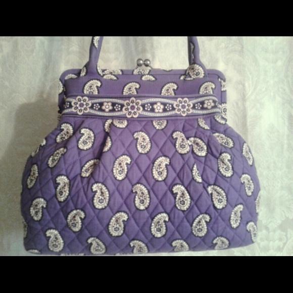 Vera Bradley Bags   Alice Handbag In Simply Violet   Poshmark ffbcba7a20
