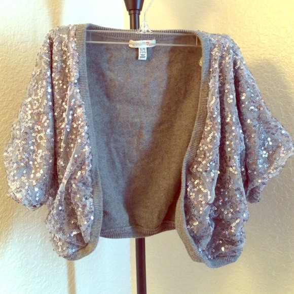 67% off Forever 21 Tops - FOREVER XXI GIRLS SEQUIN CARDIGAN from ...