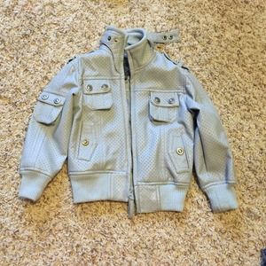 Other - Toddler boys faux leather jacket