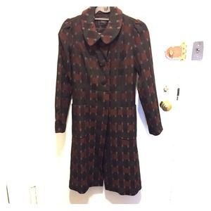 Tocca Jackets & Blazers - Tocca brown coat size s