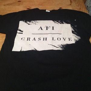 AFI  Tops - AFI Tour Shirt