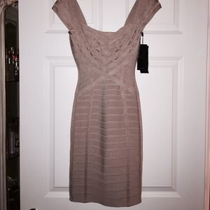 "Herve Leger Dresses & Skirts - Brand New Authentic Herve Leger ""EVEA"" Dress XS"