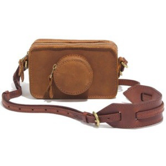 2b9fdf55c Madewell Bags | Rare Leather Camera Bag Crossbody Nwt | Poshmark