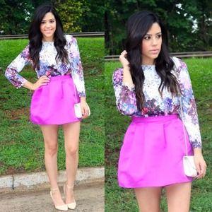 Purple Poof Skirt