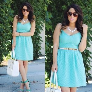 Bar III Dresses & Skirts - Turquoise Dress