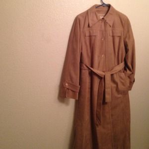 Forecaster Of Boston Trench Coat Size 9/10 Camel