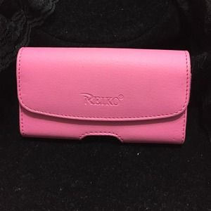 Accessories - Hot Pink Belt Clip Holster Holder Leather Case