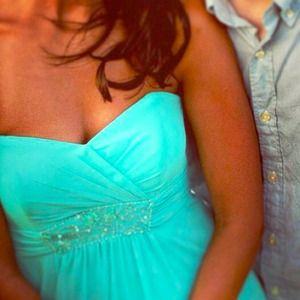 David's Bridal Dresses & Skirts - 💍 David's Bridal Tiffany Blue Dress