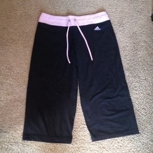 Adidas workout crops