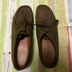 Clarks Wallabee, women's size 8